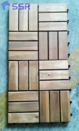 Exterior Decking  For Sale - Wood Decking Acacia Tiles