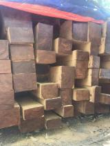 Thailand - Fordaq Online market - Teak Square Logs with Heartwood from Myanmar