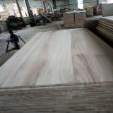 Natural Color Paulownia FJ Wood Panel, 3-75 mm thick