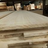 Paulownia FJ Solid Wood Panels, 3-75 mm thick