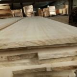Paulownia FJ Solid Wood Panels, 3-75 mm thick