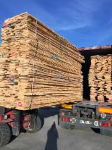 Hardwood  Unedged Timber - Flitches - Boules - Ash Loose Planks, KD, 32 mm thick