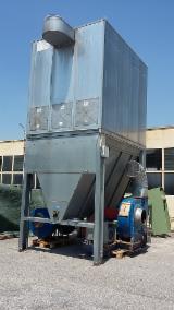 Mașini, utilaje, feronerie și produse pentru tratarea suprafețelor - Vand Sisteme De Filtrare FASSETI GERMANO 17000M2/H 150M2 Second Hand Italia