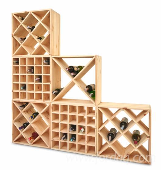 Pine Wooden wine racks, full truck loads