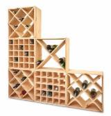 Traditional Kitchen Furniture - Pine Wooden wine racks, full truck loads