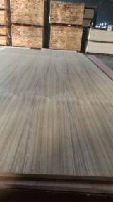 Engineered Panels China - 12mm Q/C Rift Cut Natural Teak MDF Panel