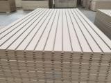 Engineered Panels China - 18 mm Slotted Plain MDF