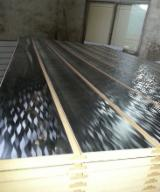 null - 15mm White Black Red Blue Orange Yellow Green Magic Melamine MDF Slatwall Panels With Aluminium Bar