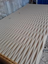Engineered Panels China - Wall decoration 3D wave MDF Panel