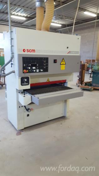 Gebraucht-SCM-SANDYA-3S-2007-Schleifmaschinen-Mit-Schleifband-Zu-Verkaufen