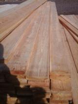 Nadelschnittholz, Besäumtes Holz Sibirische Lärche - Bretter, Dielen, Sibirische Lärche, Thermisch Behandelt - Thermoholz