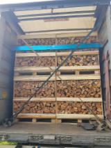 Grauerle Brennholz Gespalten