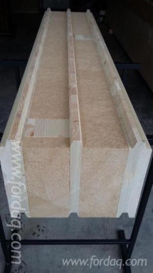madrier structurel et isolant pour construction de murs. Black Bedroom Furniture Sets. Home Design Ideas