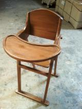 Indonesia Children's Room - Teak Baby's High Chair