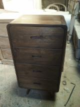 Bedroom Furniture For Sale - Teak Chest of 4 drawers for Bedrooms