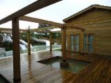 Großhandel Holz Außenverschalung - Massivholz, Sibirische Lärche, Außenverschalung