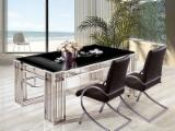 Stainless Steel Living Room Furniture - New design living room furniture Table and chair