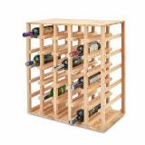 Kitchen Furniture - Wooden wine racks, different types