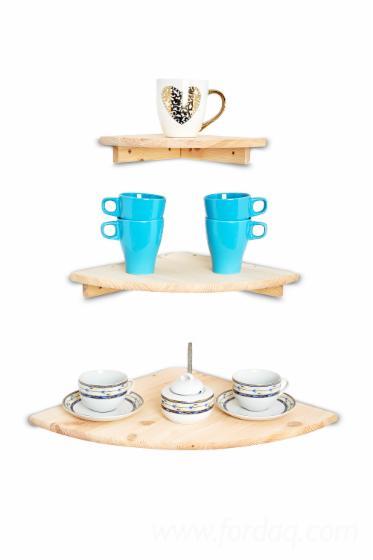 Wooden-shelves---wall-mounted-shelves---corner-floating