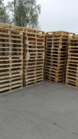 Pallets – Packaging - Selling Used Pallet Frames, 1000 x 1200 mm