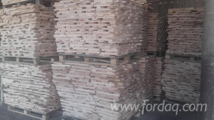 Massivholz, Buche, Gehobeltes Möbelleisten