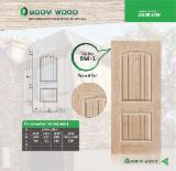 null - Natural Ash veneered HDF door skin