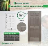 Mouldings and Profiled Timber - EV-Wenge veneered HDF door skin