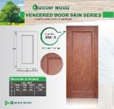 Mouldings and Profiled Timber - Natural Bubinga HDF door skin