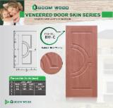 Mouldings and Profiled Timber - Red Cherry HDF Door Skin