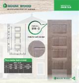 Mouldings and Profiled Timber - Black Walnut HDF Door Skin