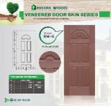 Wood Components, Mouldings, Doors & Windows, Houses - EV-Sapelli door skin