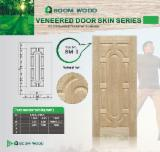 Mouldings and Profiled Timber - Natural Ash HDF Door Skin