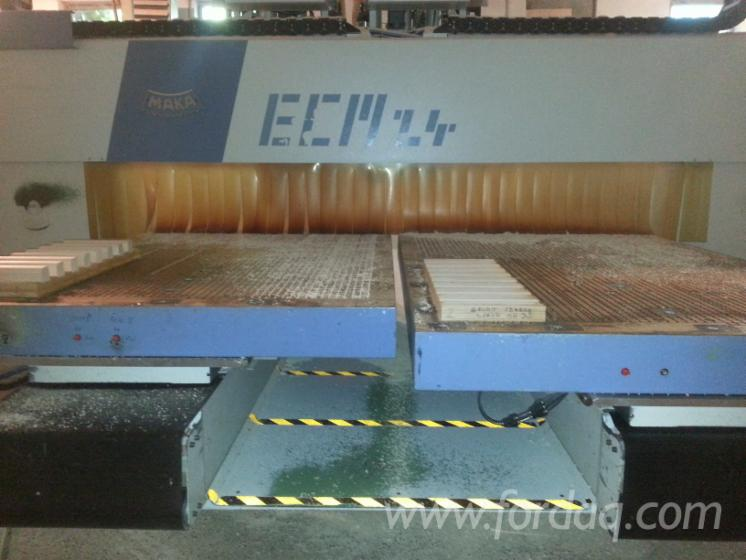 Used-1995-Maka-ECM24-CNC-Machining
