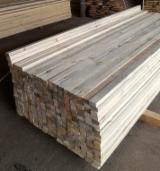 Drewno Iglaste  Tarcica – Drewno Budowlane Na Sprzedaż - Szkielety, Belki Stropowe, Więźba, Sosna Syberyjska, Świerk  - Whitewood