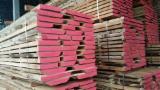 Drewno Liściaste  Drewno Okrągłe – Tarcica Blokowa – Tarcica Nieobrzynana Na Sprzedaż - Deski Jednostronnie Obrzynane, Buk
