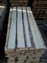 Laubholz  Blockware, Unbesäumtes Holz Lettland - Blockware, Schwarzerle, Birke, Espe, Aspe