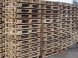 Paletten - Verpackung Zu Verkaufen - Europalette, Wiederaufbereitet - Gebraucht, In Guten Zustand