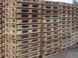 Wood Pallets - Used Pine Epal in Good State