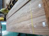 天然木皮单板, 柚木, 平切,平坦