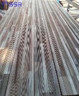 Vloeren Planken en Buitenvloeren Terrasplanken - Acacia, Plaat Van Een Strook Breed