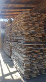 Unedged Hardwood Timber - Oak Boules Romania