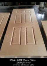 White HDF Door Skin 820 x 2150 x 3 mm