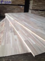Solid Wood Panels For Sale - FSC Acacia wood finger jointed panel