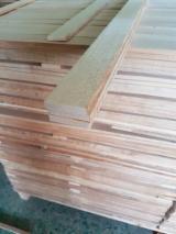 Laubschnittholz, Besäumtes Holz, Hobelware  - Parkettfriese, Sägefurnier, Buche