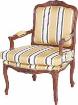 Italy Living Room Furniture - Beech Spanish Armchair
