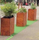 Suport Ghivece - Jardiniera placaj 90x30x35 cm - 250 lei