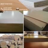 Veneer and Panels - Furniture Grade Hardwood Core 18mm/16mm Warm White Melamine Plywood