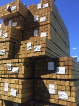 Madera Tratada A Presión Y Madera De Construcción - Fordaq - Venta Armazones, Vigas Para Entramados, Cuartones Pino Silvestre  - Madera Roja 95 mm