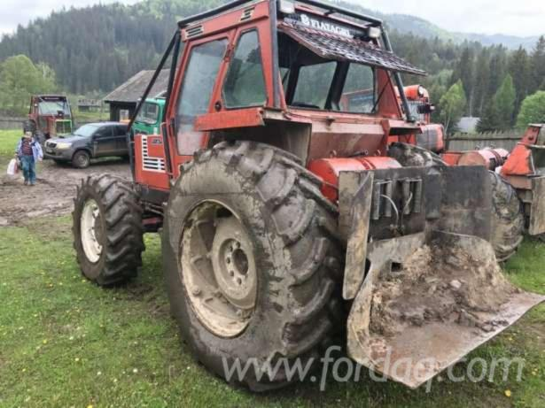 Gebraucht-FIAT-Forstschlepper