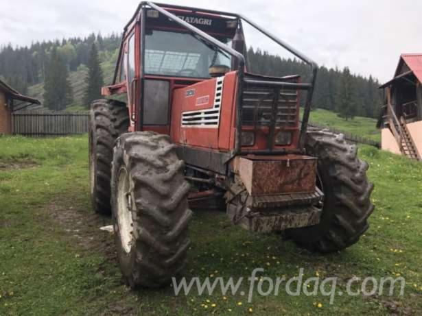 tracteur forestier occasion fiat
